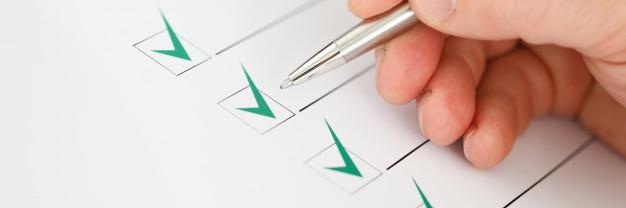 folhas de verificação gestão da qualidade